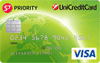 ЮниКредит S7 Priority VISA Green